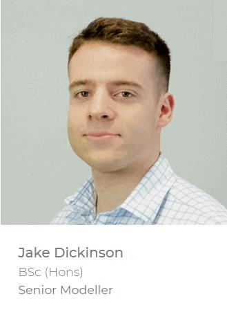 Jake Dickinson - Senior Modeller